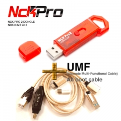 NCK Pro 2 Dongle (NCK Dongle + UMT Dongle 2 in 1 ) + UMF All boot cable