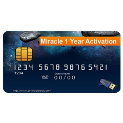 Miracle 1 Year Support Activation  (remote activation, no waiting, no shipping)