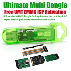 UMT Dongle + Activation EMMC ISP + eMMC ISP Tool Adapters